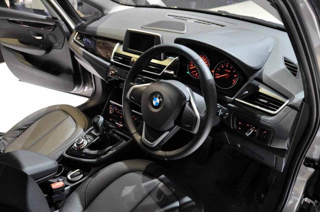 BMW 218i interior